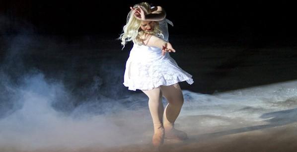 Ξηρός πάγος σε χορό