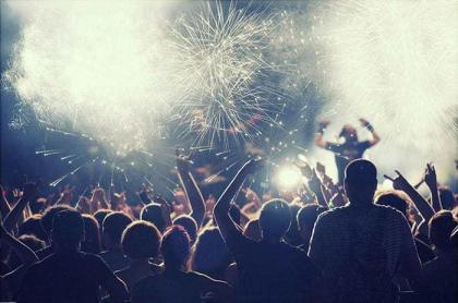 Πυροτεχνήματα με μουσική