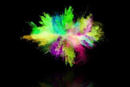 Χρωματιστή Πούδρα πολύχρωμη