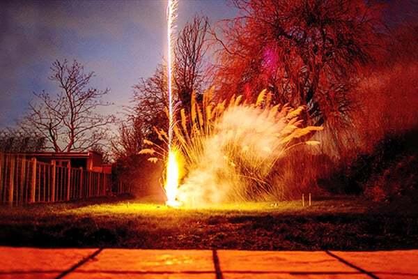 Επίγεια πυροτεχνήματα
